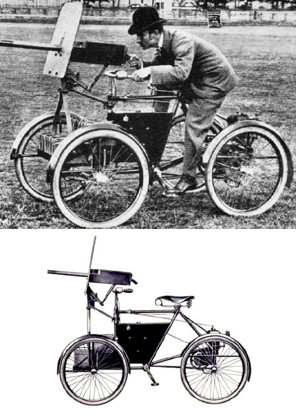 被遗忘的武器:战场上的自行车