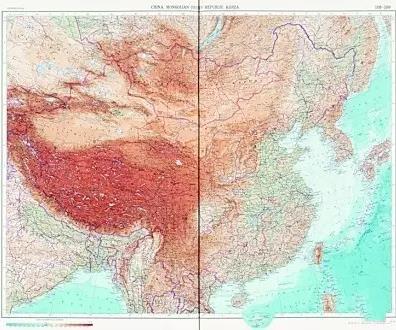1967年苏联出版的世界地图集