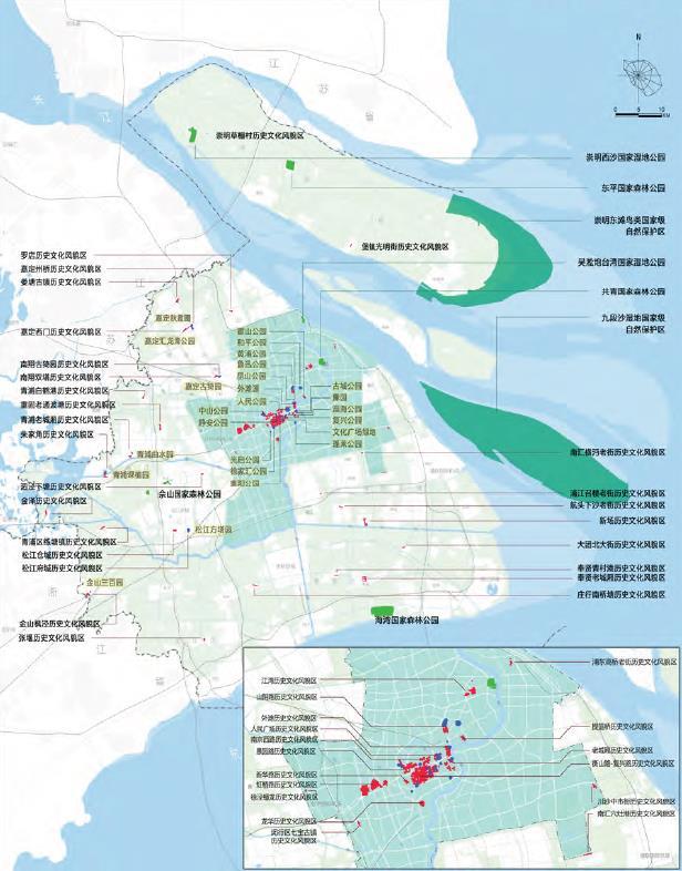 2040年上海规划图高清