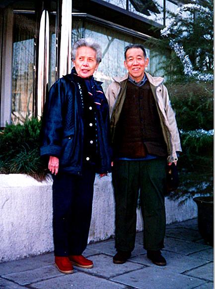 93年1月1日,丁景唐与王映霞.jpg