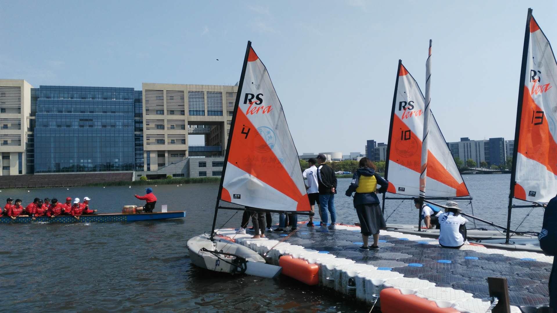 打造品牌文化项目,培养学生帆船技能,丰富学生课外活动.