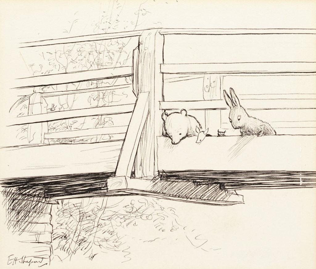 """""""在这些钢笔画原稿中,我们可以清晰地看见插画家的笔触和感情,"""""""