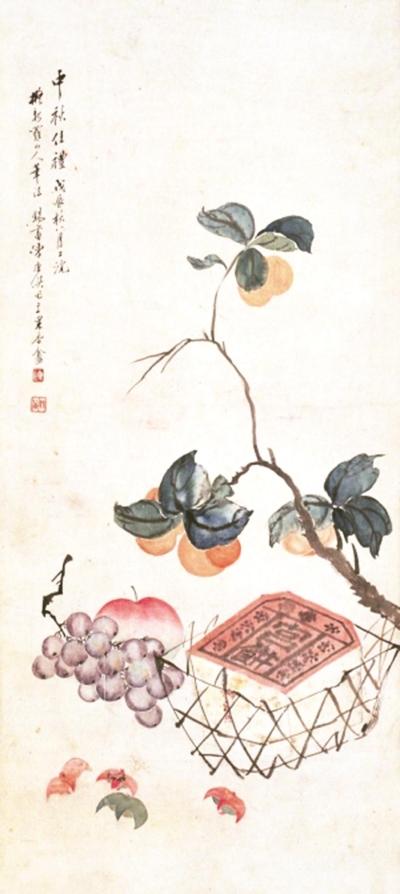 拜月团圆折桂等中秋节令绘画的经典场景中,隐含着怎样的民族文化心理