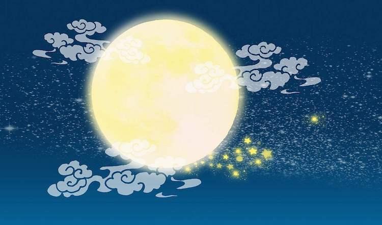 中秋节,阖家团圆的美好节日.
