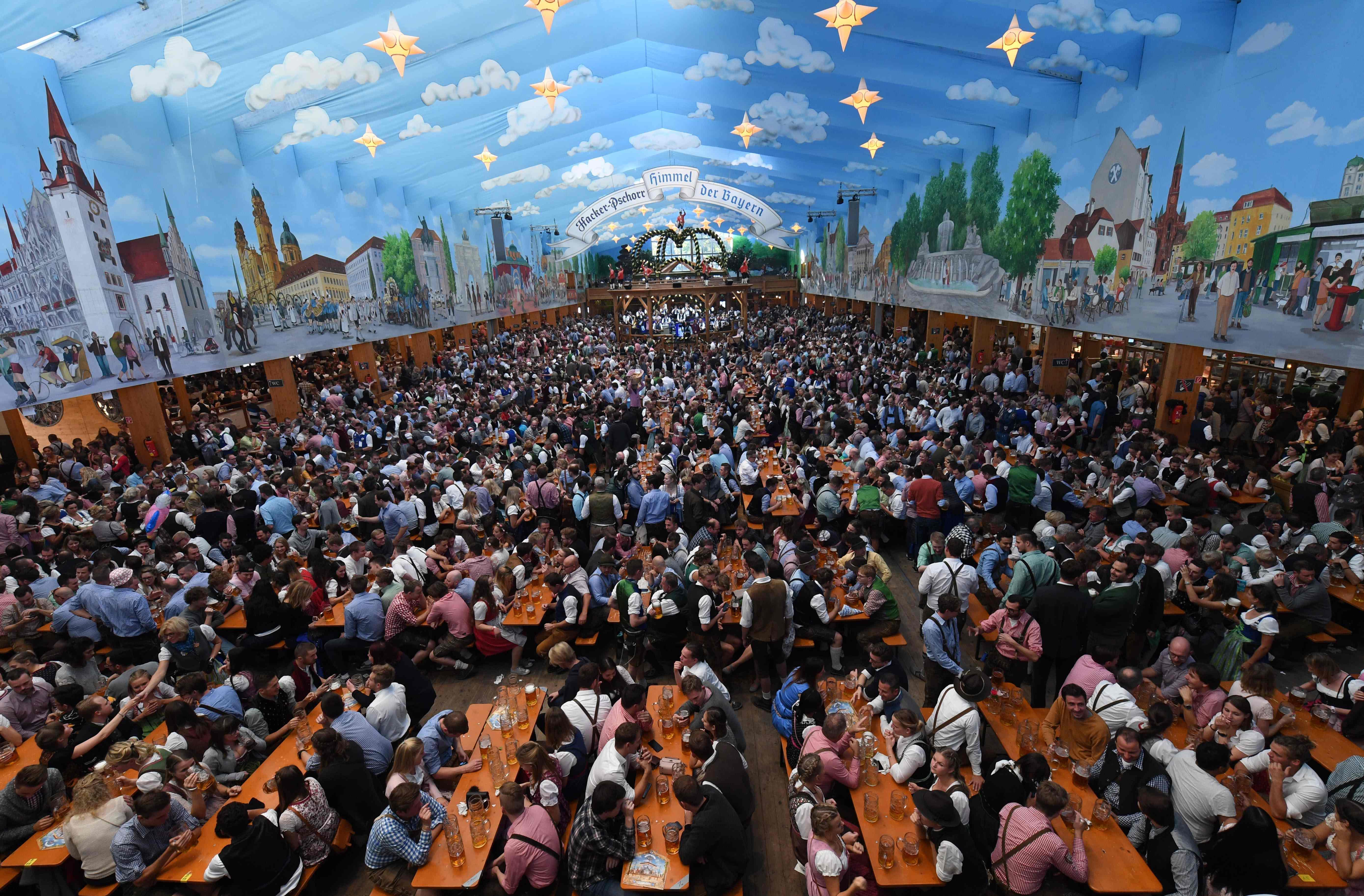 (外代一线)(6)德国慕尼黑啤酒节盛况-FZ00031972081.jpg