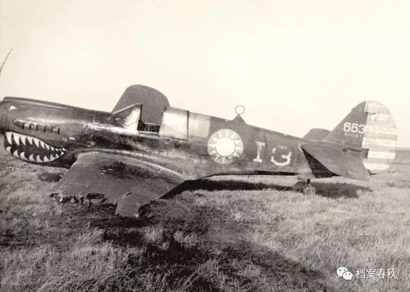 王光复经常驾驶的P40飞机.jpg