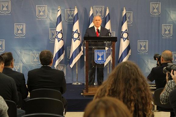 (国际)(3)内塔尼亚胡宣布兼任以色列国-FZ00032105035.jpg