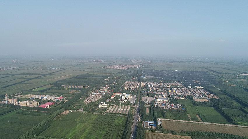 贾家庄村全景