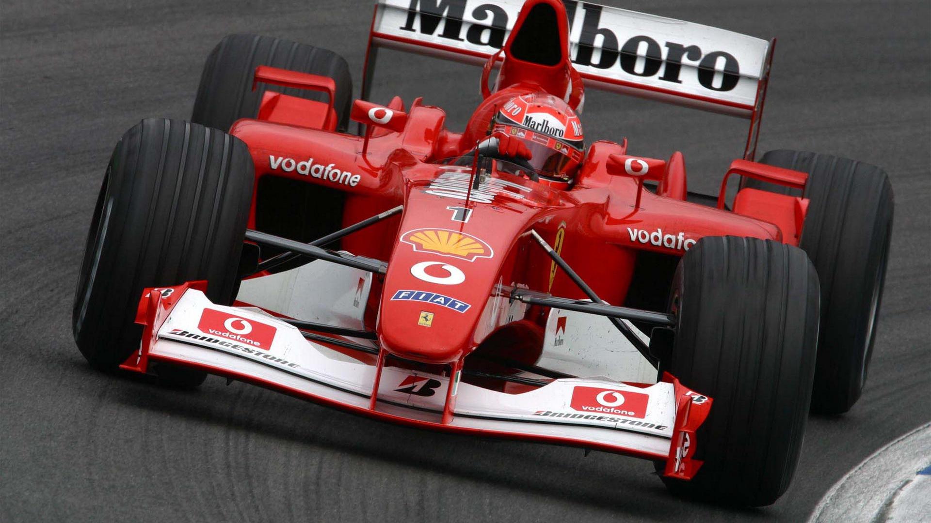 文汇记忆 | 迈克尔·舒马赫:f1方程式赛车是一项了解极限在哪里的运动图片
