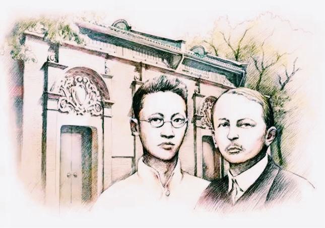 两名共产国际代表马林和尼科尔斯基也参加了一大的会议.jpg