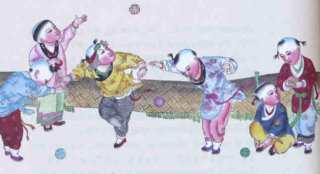 瑞雪丰年局部(杨柳青年画).jpg
