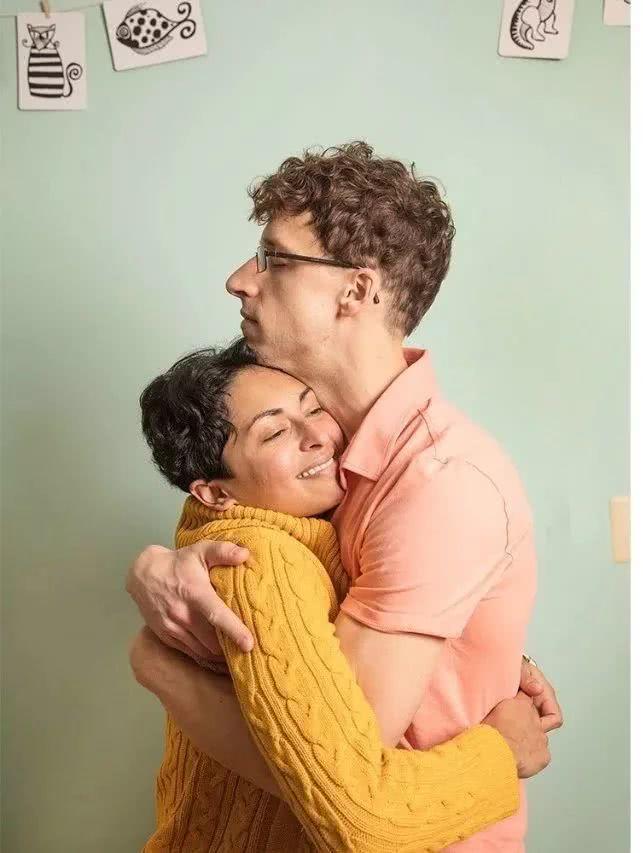 索尼娅和埃里克。图片来源:ELINOR CARUCCI | Wired