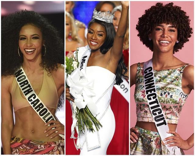 历史首次:黑人女性囊括美国三大选美冠军