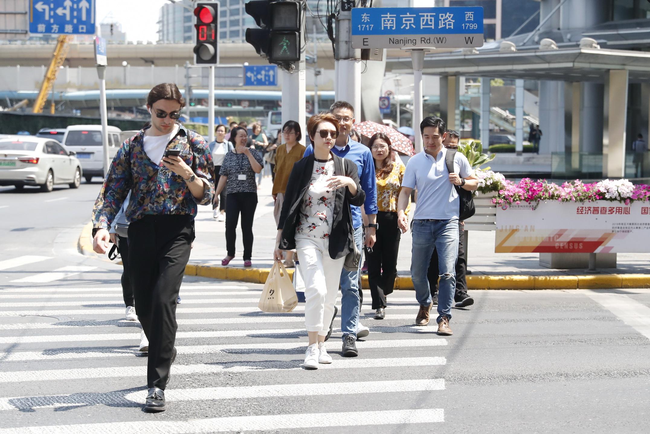 这就到夏天了?申城已开启晴热模式,今日最高温已达31.3℃