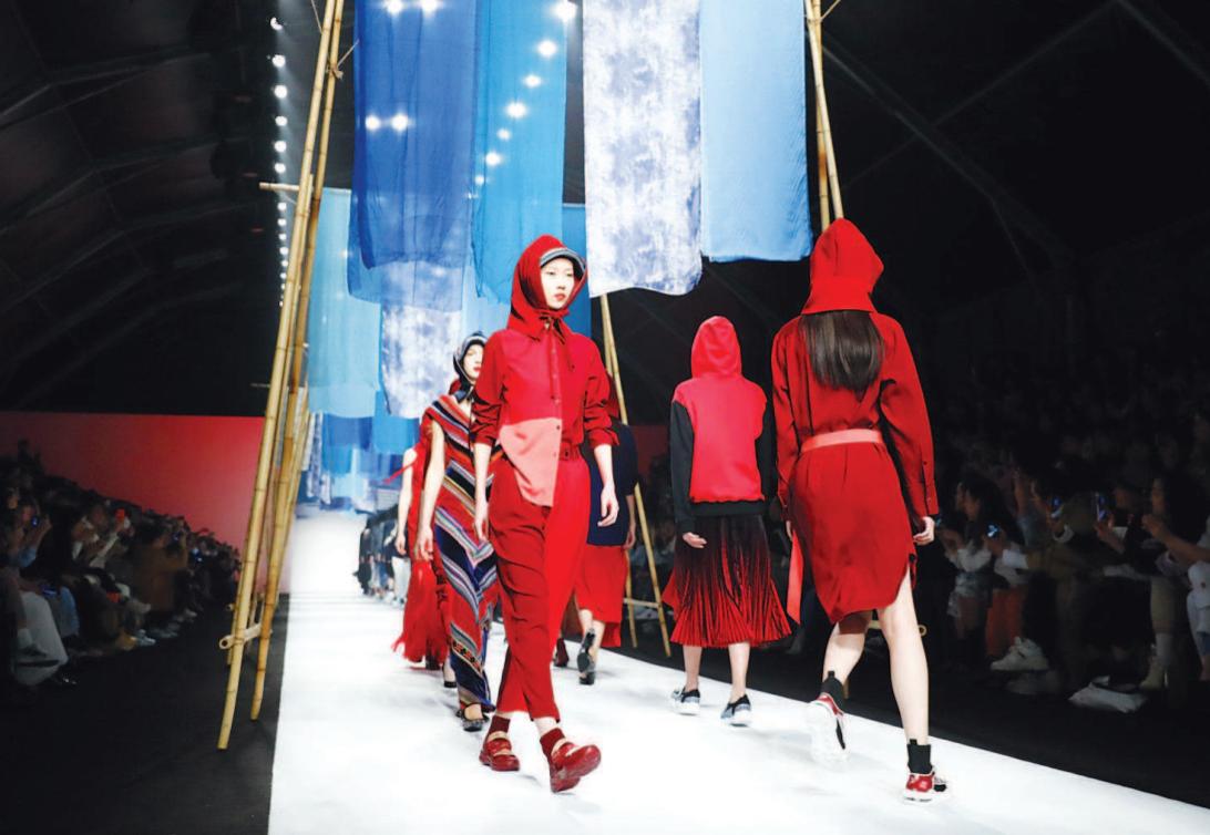 上海时装周助推时尚产业发展