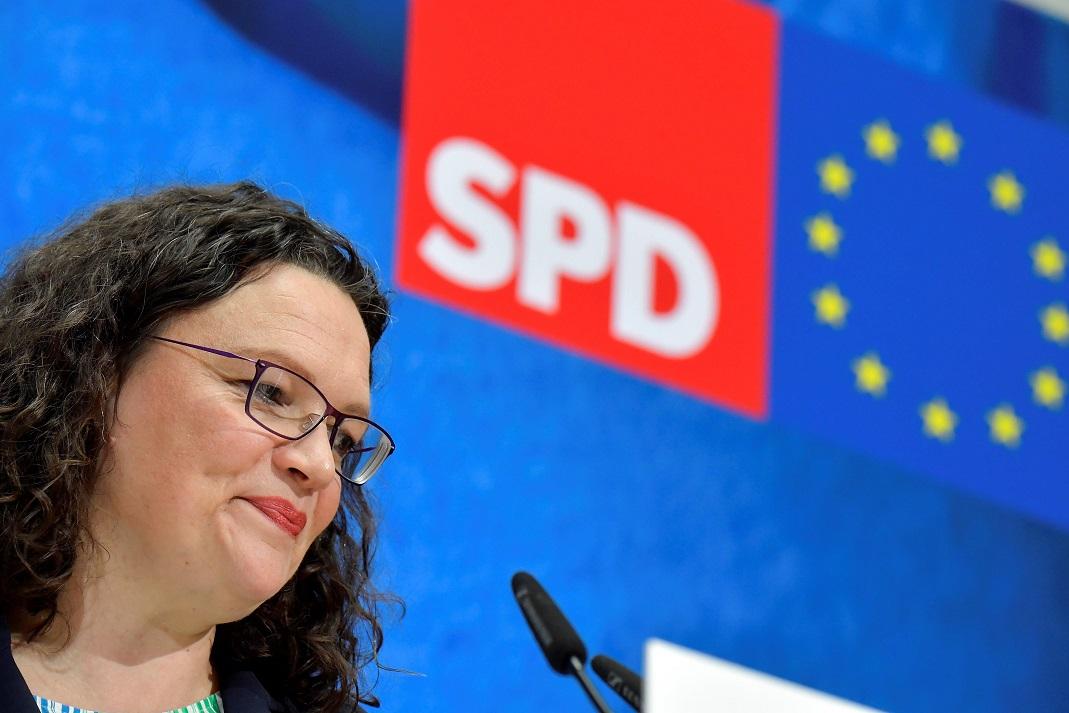(外代一线)(7)德国社民党主席宣布辞职-FZ10042685733.JPG