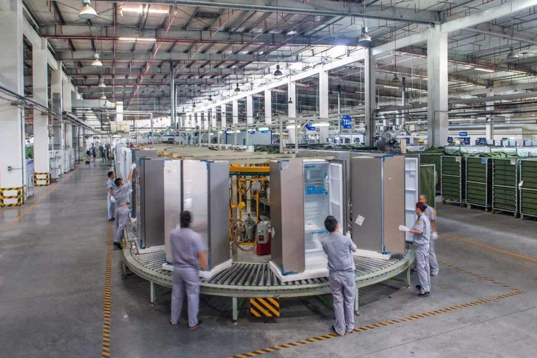 设在重庆江北区的海尔集团生产线.jpg