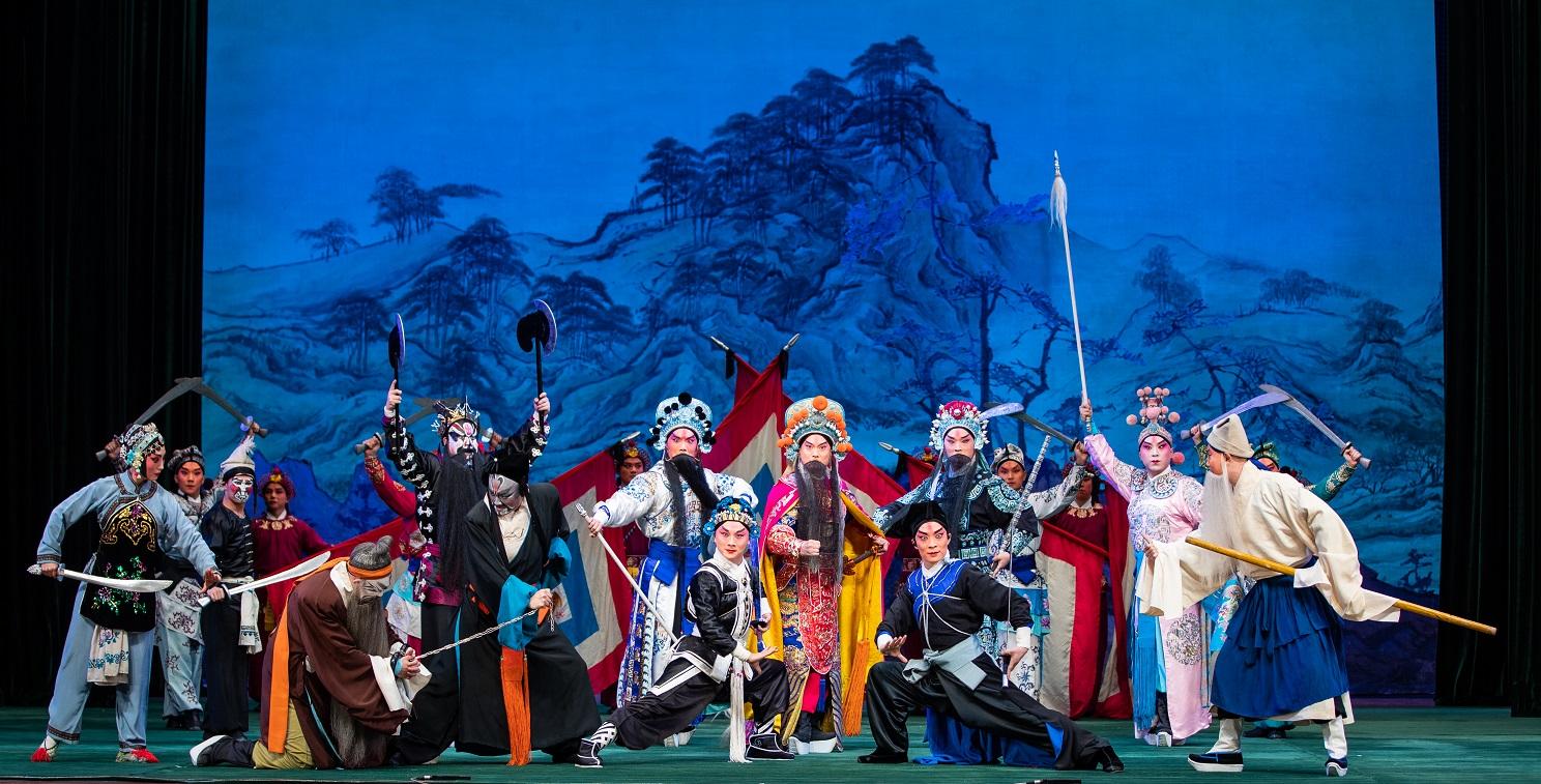 国家京剧院第二届优秀武戏展演上的《三打祝家庄》(李春来摄).jpg