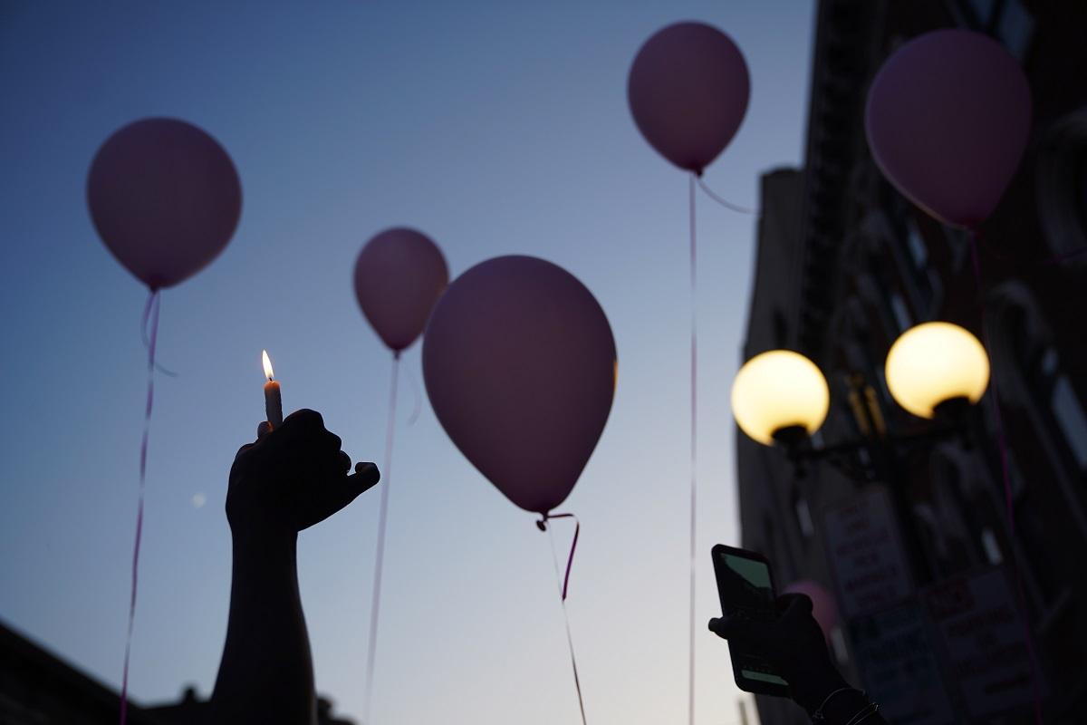 (国际)(4)美国代顿市悼念枪击事件遇难-FZ00032871169.JPG