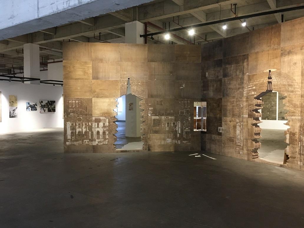 """""""丝路上的中国当代艺术""""进博会期间在青浦巡展,上海城市空间艺"""