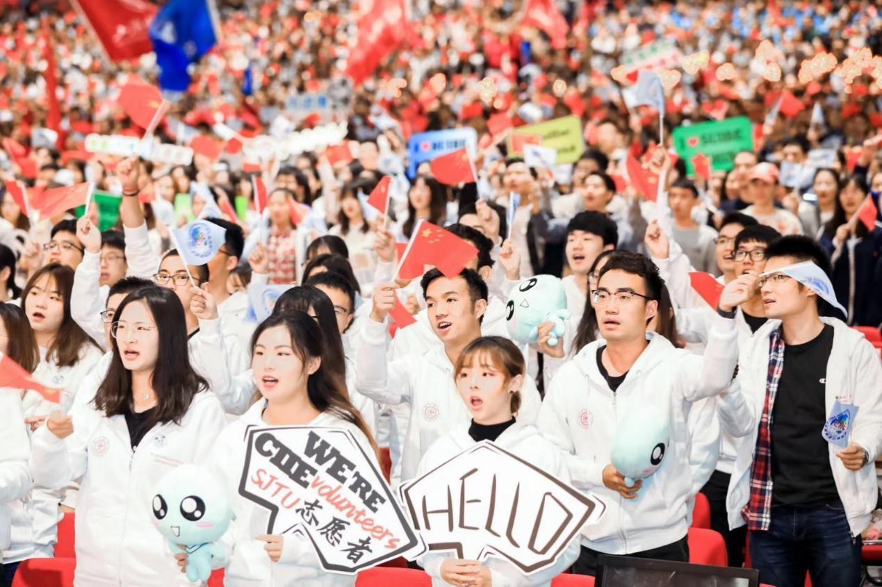 上海市出征儀式交大志愿者風采.jpg