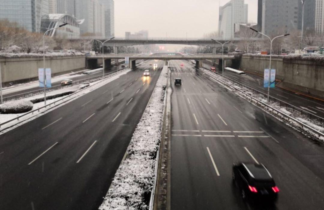 20200202,京城鼠年初雪,街头这一幕幕太动人