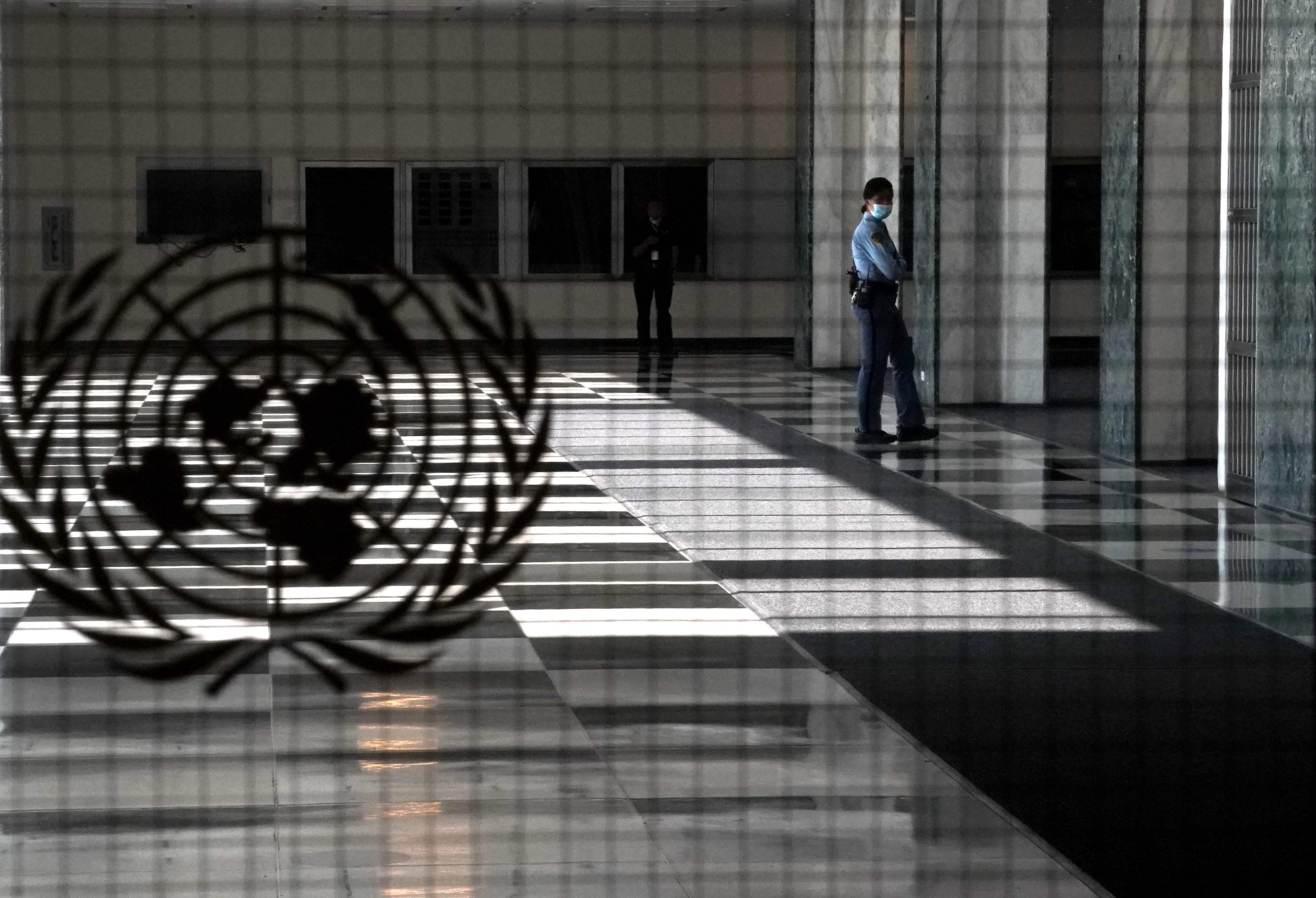 美国纽约联合国总部。第75届联合国大会一般性辩论在纽约联合国总部拉开帷幕。.jpg