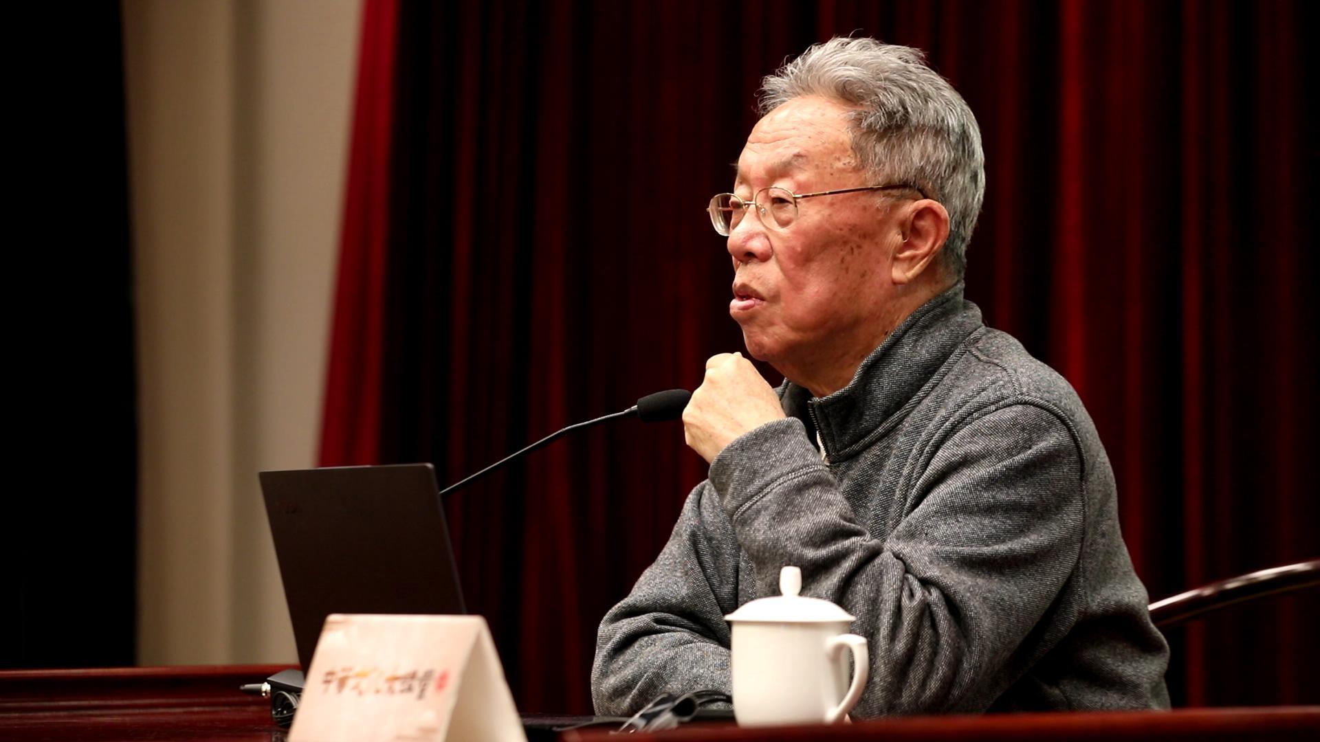 """87岁的""""人民艺术家""""王蒙先生分享讲座《中华文化:特色与生命力》.jpg"""