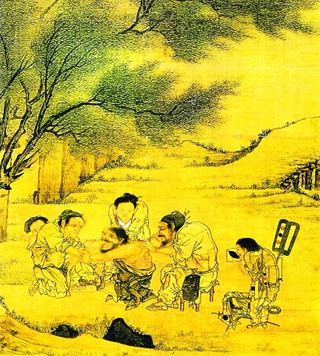 村医图(局部),宋代,李唐,台北故宫博物院藏 图源视觉中国645.jpg